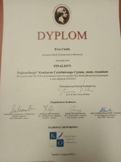 Ewa dyplom