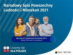 Narodowy Spis Powszechny Ludności i Mieszkań NSP 2021 grafika II