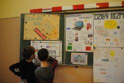 Dzień Bezpiecznego Internetu w SP Brzozowa