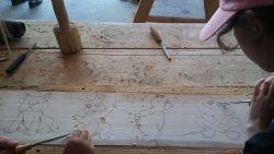 Zajęcia rzeźbiarskie